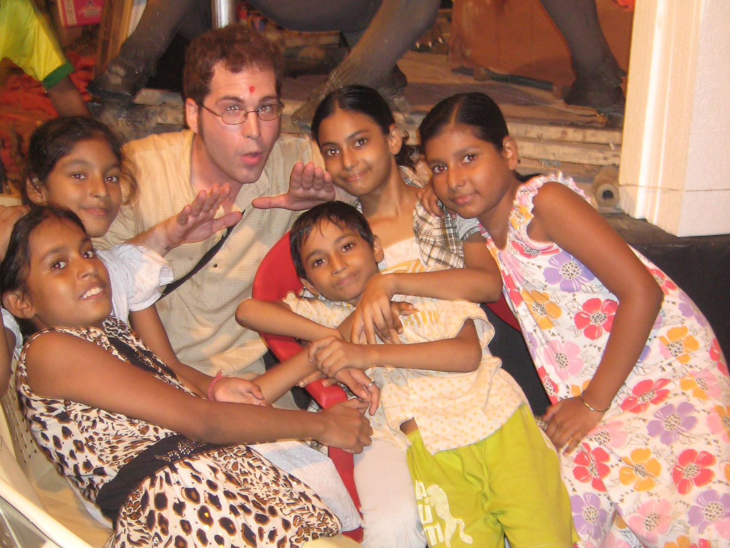 Bengali Kids & William Clark