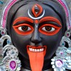 Kali Puja face