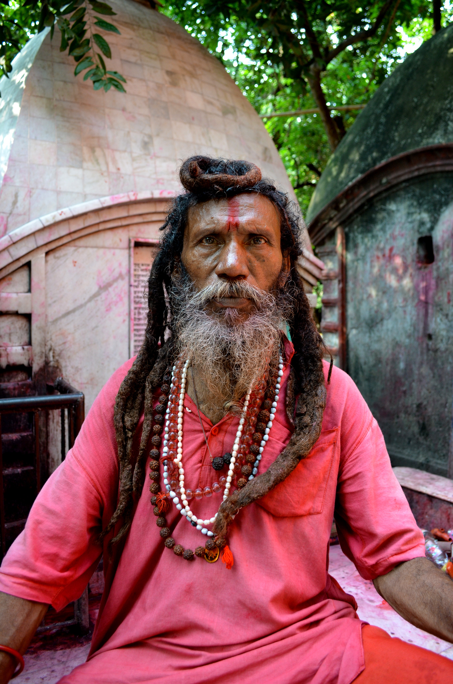 A Tarapith cremation ground tantrik