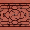 Swastika Metalwork on Door Panel
