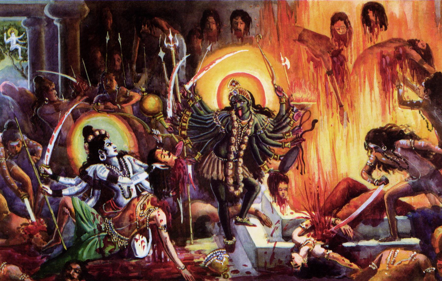 Top Wallpaper Lord Kali - Bhadrakali-Daksha  Trends_30784.jpg