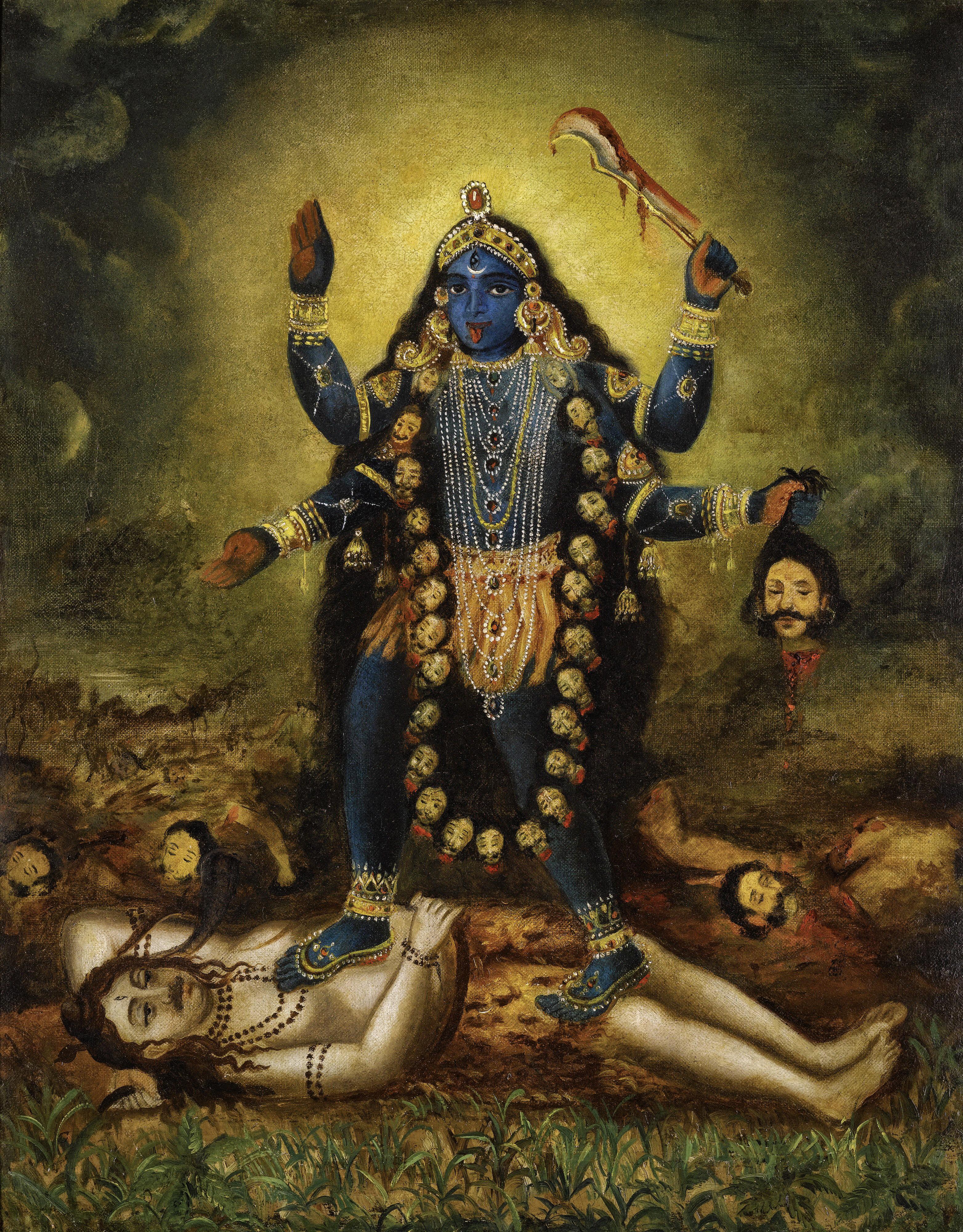 Is my Mother Shyama Black? A Song of Kamalakanta - Kali Bhakti